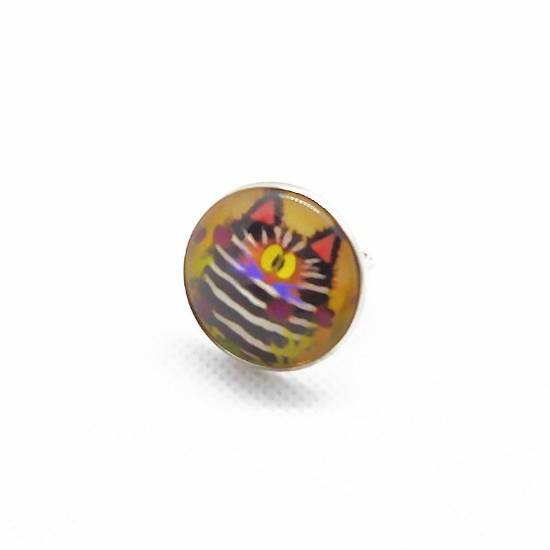 Macskás gyűrű - állítható méretű
