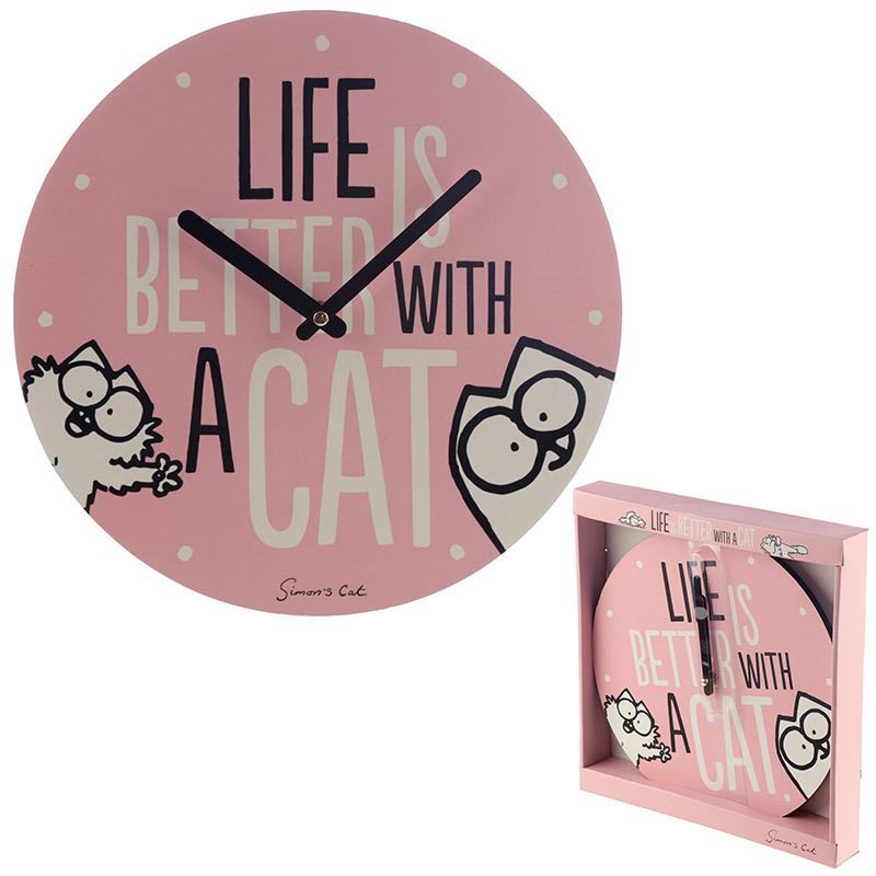 Falióra - Simon's Cat - LIFE IS BETTER WITH A CAT