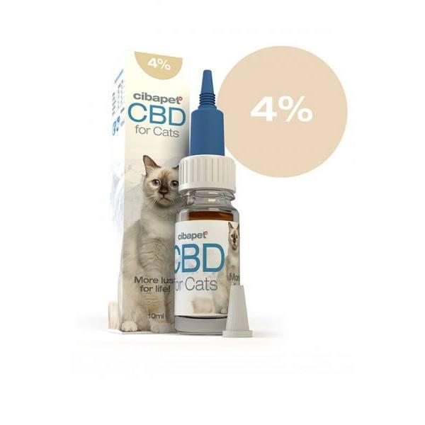 Cibapet CBD olaj macskáknak 4%